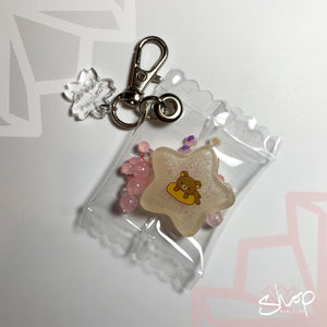 Star Rilakkuma Candies Keychain