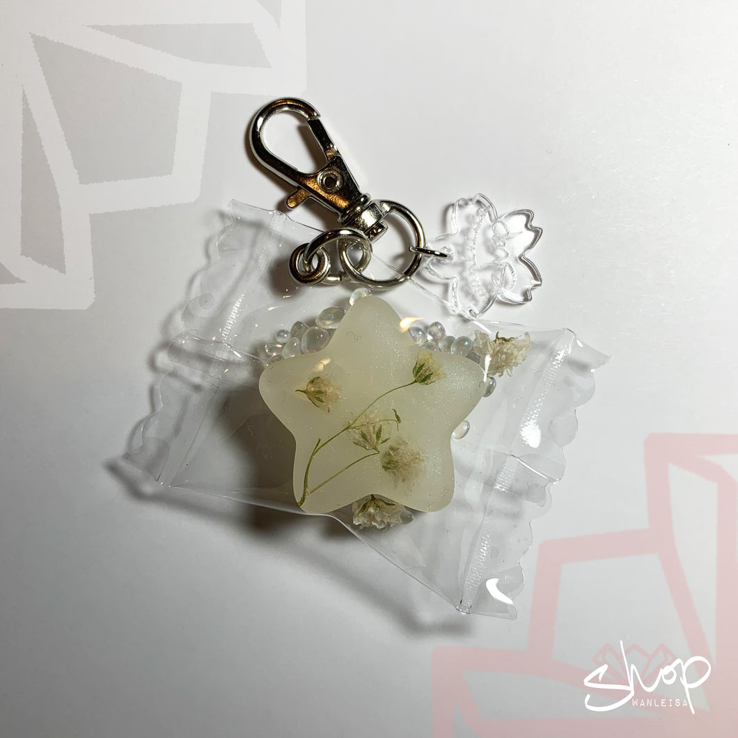 Baby's Breath Candies Keychain