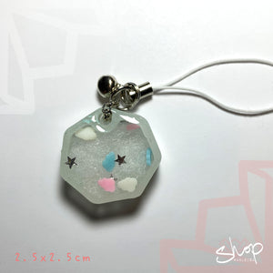 "Cloud ""Heptagon"" Shaker Phone Strap"
