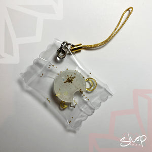 Gold Moon Candies Phone Strap