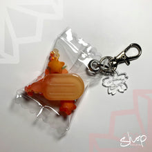 Load image into Gallery viewer, Orange Popsicle Candies Keychain