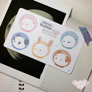 Astro Buddies Sticker Sheet (Small)