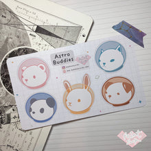 Load image into Gallery viewer, Astro Buddies Sticker Sheet (Small)
