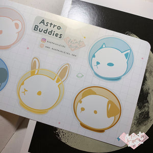 Astro Buddies Sticker Sheet (Large)