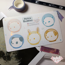 Load image into Gallery viewer, Astro Buddies Sticker Sheet (Large)