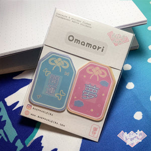 Omamori Sticker Pack - Transparent Matte