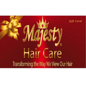 Carte-cadeau Majesty Hair Care