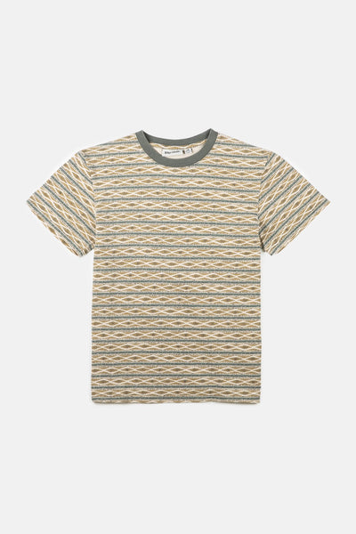 Tribe Stripe Youth T-Shirt Olive