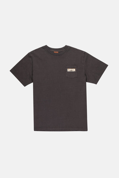 Western Pocket Tee Vintage Black