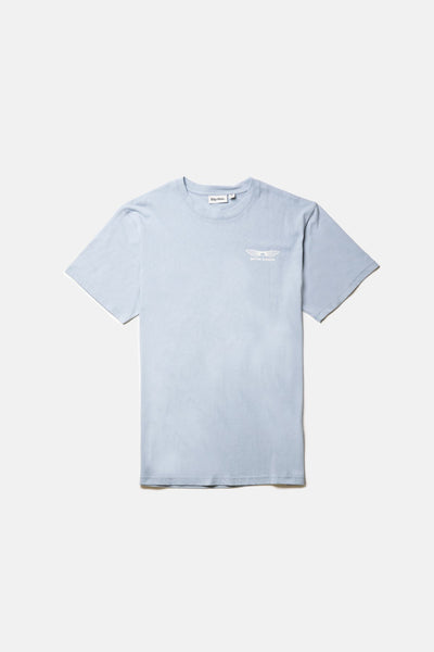 Boys Sundown Tee Mineral Blue