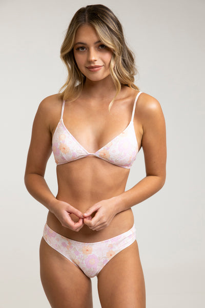 Melody Bralette Top Rose