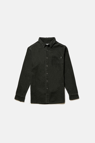 Corduroy Ls Shirt Green