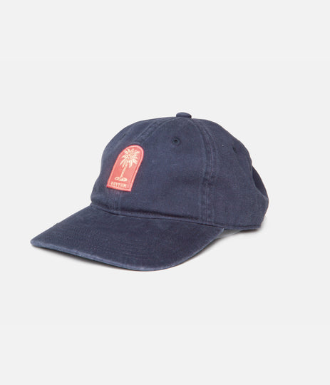 PALM LABEL CAP NAVY