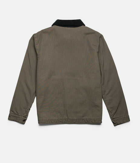 WORK JACKET DUSTED OLIVE