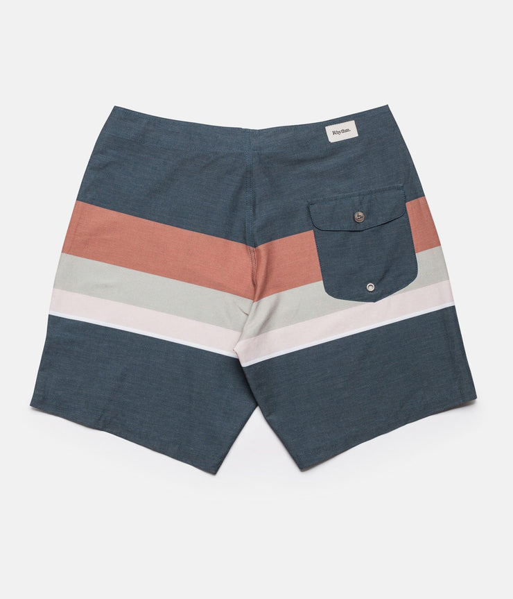 THE VINTAGE STRIPE TRUNK FADED NAVY
