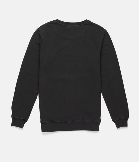 WASHED OUT PULLOVER WASHED CHARCOAL