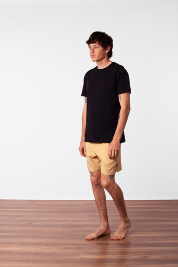 BLACK LABEL BEACH SHORT SUNBLEACHED YELLOW