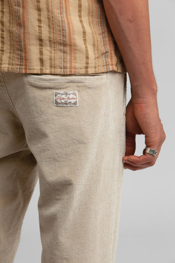 The Cord Sunday Pant Cream