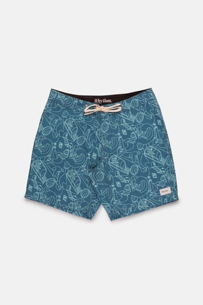 So Pitted Trunk Sea Blue