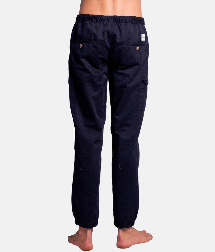 ATELIER TWILL PANT NAVY