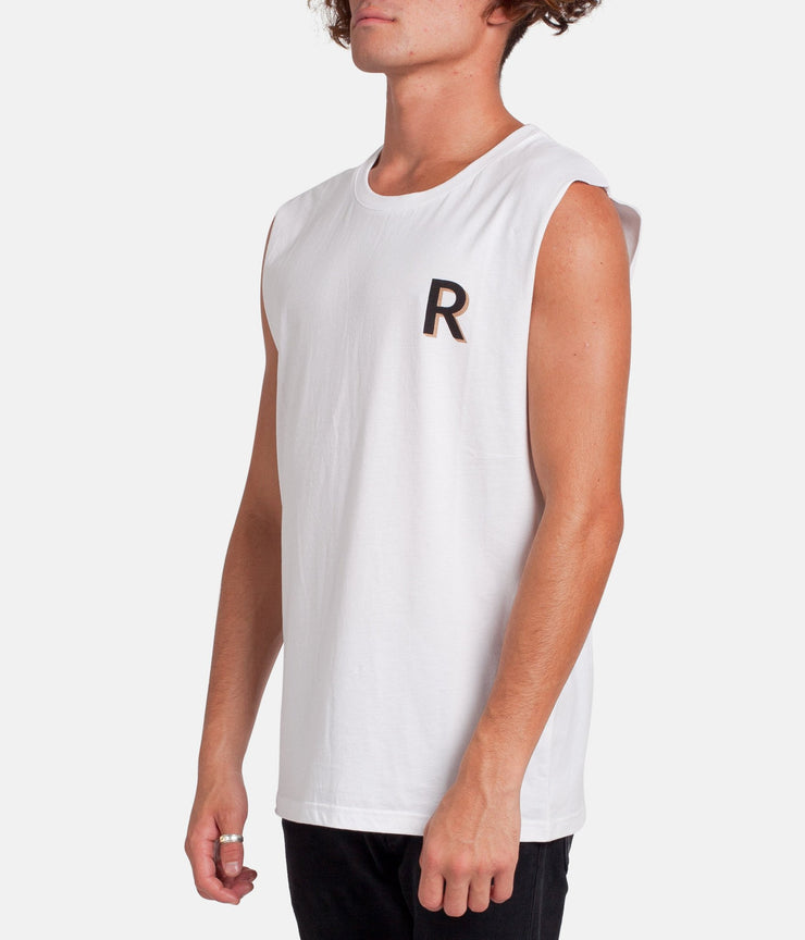 BUTCHER TANK WHITE