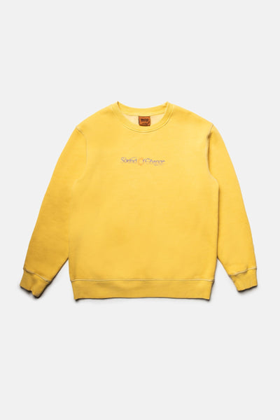 Boys Sound Vintage Fleece Crew Vintage Gold