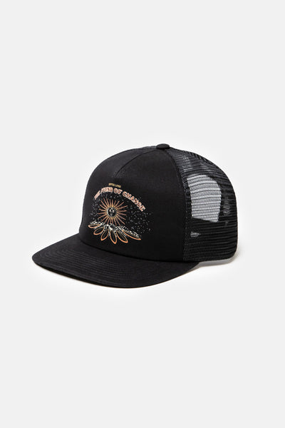 Cosmic Trucker Cap Black