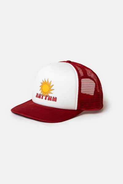 Blaze Trucker Cap Mineral Red