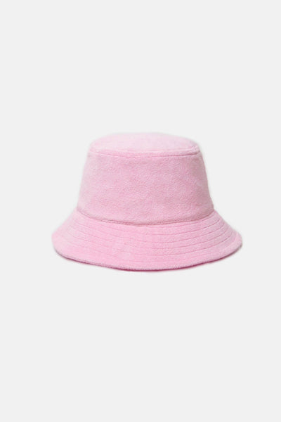 Terry Towelling Bucket Hat Rose