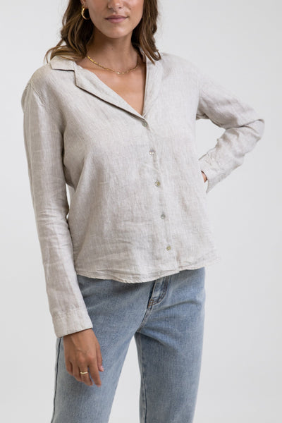 Classic Long Sleeve Shirt Sand