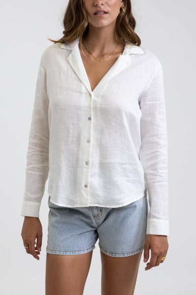 Classic Long Sleeve Shirt White