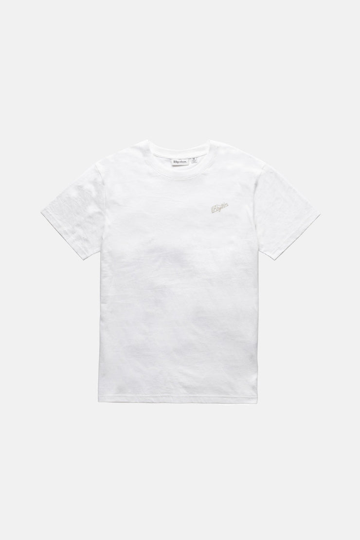 Essential Script T-Shirt White