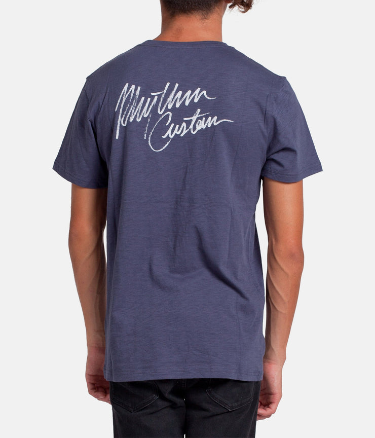 CUSTOM T-SHIRT VINTAGE NAVY
