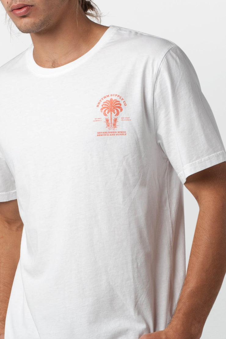 DESERT PALM T-SHIRT WHITE