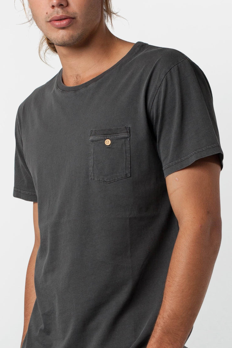 EVERYDAY WASH T-SHIRT CHARCOAL