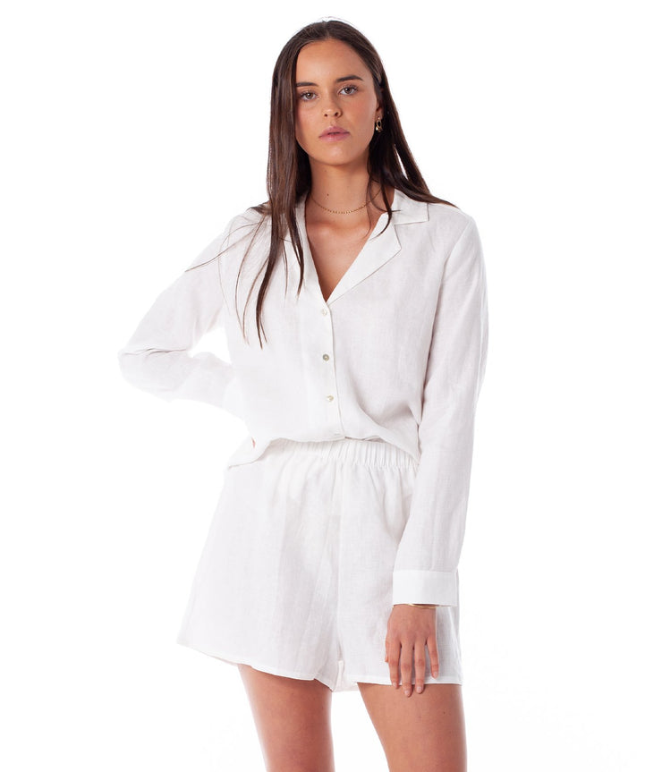 FIRST EDITION  MELODY PJ SET WHITE