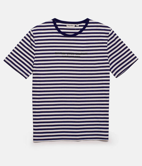 HARRY STRIPE T-SHIRT NAVY