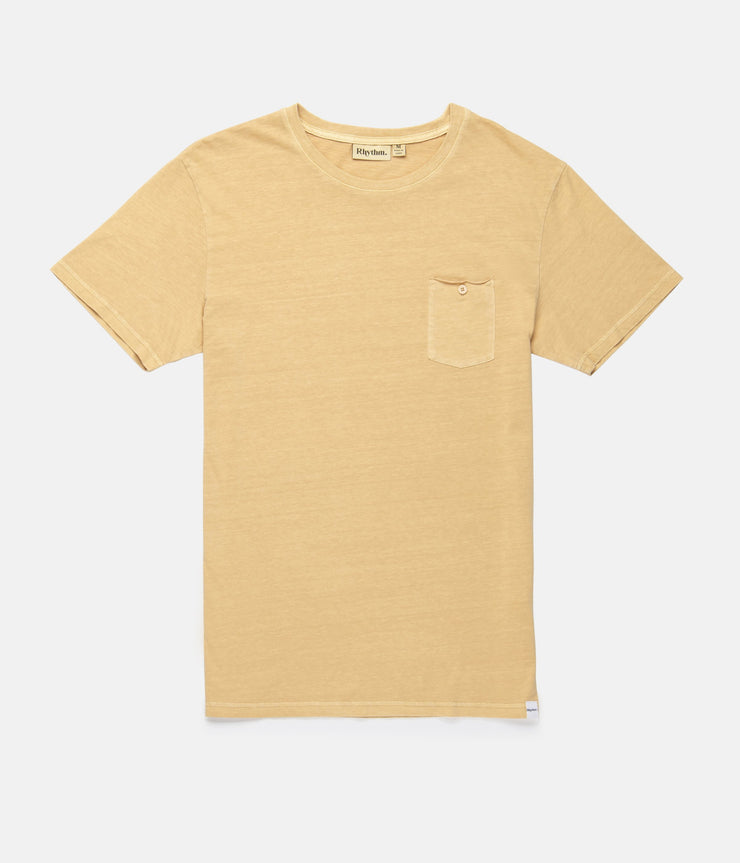 EVERYDAY WASH T-SHIRT WASHED PEACH