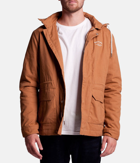 BLENDS JACKET DARK SAND