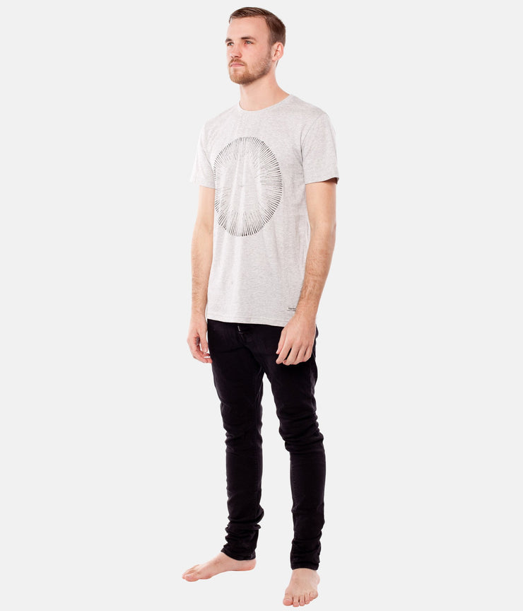 BEAMS T-SHIRT GREY MARLE