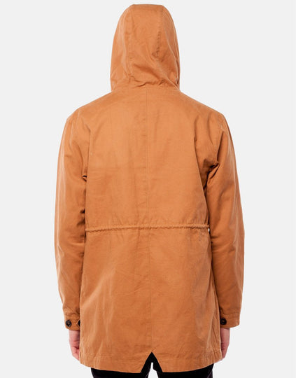 NEVERMIND JACKET DARK SAND