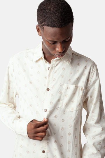 Seedling LS Shirt White