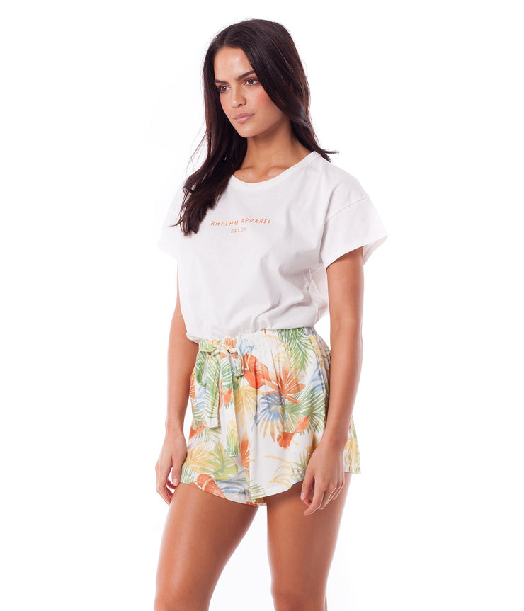 TROPICANA SHORT WHITE