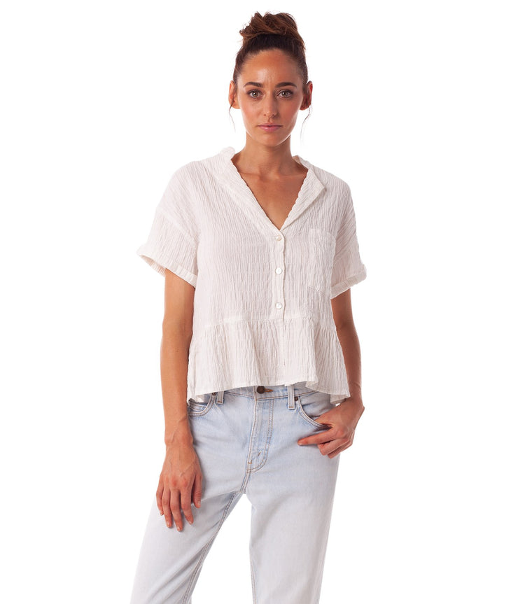MAHINA TOP WHITE