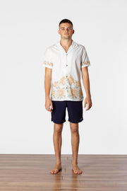 THE GARDEN SS SHIRT WHITE