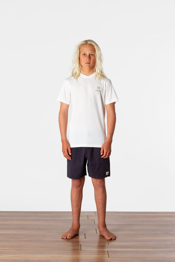 BOYS TROPICS T-SHIRT WHITE