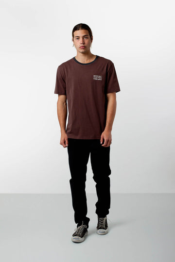 DECADE T-SHIRT VINTAGE BROWN