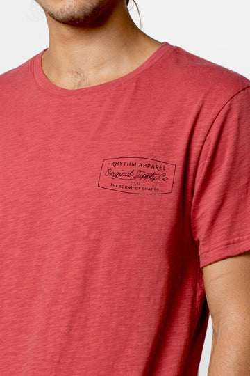 ORIGINAL T-SHIRT DUSTED RED