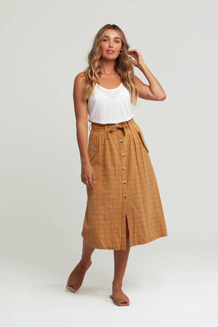 Amalie Skirt Honey