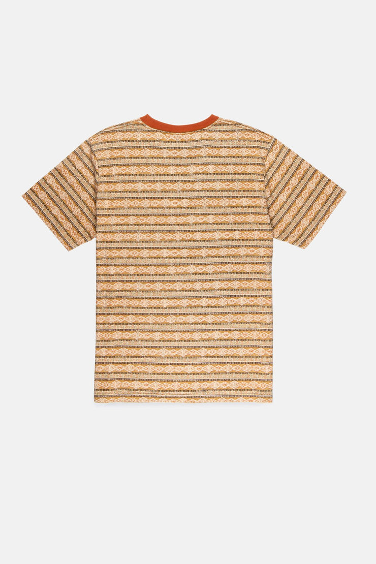 Tribe Stripe T-Shirt Tobacco